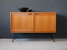 Vintage 60er Teak Kommode Sideboard Danish Mid-Century 60s Cabinet  70er 70s