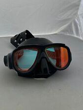 "New listing Oceancat Oceanways ""hd� Black Silicone Mask Om964bksff Anti-uv,glare, Fog Lens"
