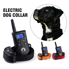 2020 Rechargeable Dog Training Collar Red Remote Vibration Waterproof NEW