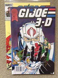 GI JOE IN 3-D (BLACKTHORNE) (1987 Series) #1 NEWSSTAND  #2 Error