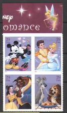 USA 2006 Disney/Topolino/Minnie/Cenerentola/LADY/Vagabondo/Bellezza/Beast 4 V nero (n16030)