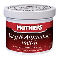 5 oz Mothers Mag Aluminum Polish Shines Wheel Clean Metal Rim Exhaust Headlights