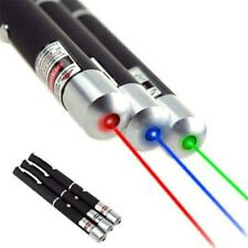 1mW Blue Purple Green Red Beam Laser Lazer Light Pointer Pen Powerful *UK STOCK*
