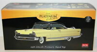 Sunstar 1/18 Scale - 4654 - 1956 Lincoln Premiere Hard Top - Black / Yellow