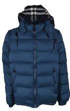 New Burberry Men's $795 BASFORD Goose Down Puffer Coat Vest W/Zip Off Sleeves S