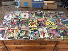 Daredevil- Lot of 24 Issues #182 & up Marvel Comics