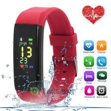 Fitness Tracker HR Activity Smart Watch w/Heart Rate Monitor Waterproof Bracelet