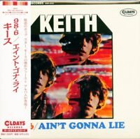 KEITH-98.6 / AIN'T GONNA LIE-JAPAN MINI LP CD BONUS TRACK C94