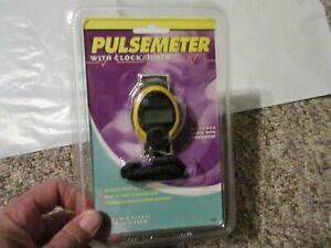 Oregon Scientific Digital Pulse meter Model PM138 with clock timer New