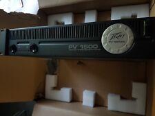 Brand New PV 1500 Watt Stereo Power Amplifier Peavey Amp