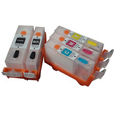 CANON IP4000 IP5000 i860 MP870 MP710 MP780 MP760 MP750 refillable ink cartridge