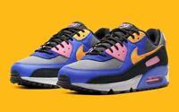 Nike Air Max 90 QS Persian Violet Pollen Rise CN1080-500 Men's Shoes Size 11.5