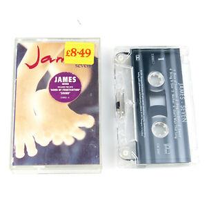 James - Seven - Cassette Tape Album 1991