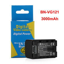 BN-VG121U Battery for JVC Everio Camcorder BN-VG107 BN-VG108US BN-VG114U 3000mAh