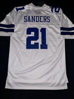 Dallas Cowboys NFL Pro Line Deion Sanders Vintage Home Jersey