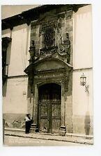 Wooden Door—Casa de Allende RPPC San Miguel—Vintage Photo Tarjeta 40s