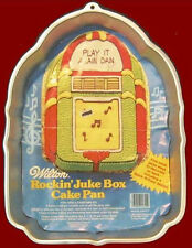 Rockin Juke Box Cake Pan with Insert & Booklet Wilton 1387 New