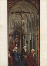 Alte Kunstpostkarte - Roger van der Weyden - De Eucharistie