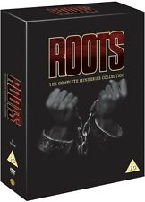 ROOTS THE COMPLETE MINI SERIES COLLECTION + THE GIFT 9 DISCS R2/4