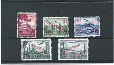 SERBIA Scott 2NC11-15 Michel 26-30 RARE USED SET Signed German Occup CV $1850