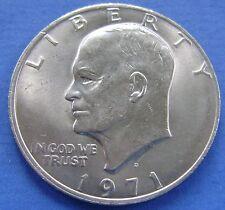 USA 1 Dollar 1971 D Eisenhower - Cupro - KM# 203