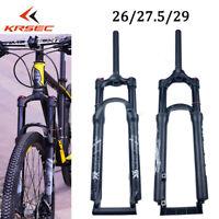 XC20 100mm Suspension Fork Shock Manual Lock Air Forks Mountain Bike 26/27.5/29