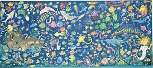 New Hand Cut Wooden Underwater 251-piece Jigsaw Puzzle in plywood box
