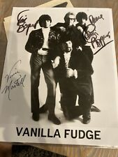 Vanilla Fudge Autographed Photo