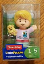 Fisher Price Little People VETERINARIAN ELLA Figure 2017 NewSealed Free Shipping