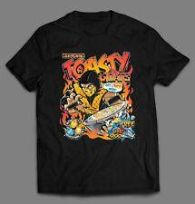 SCORPION MORTAL KOMBAT PARODY TOASTY-O'S VIDEO GAME T-Shirt Regular Size S-3XL