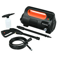 Electric Pressure Washer Portable High Power Pressure Machine Cold Water Orange