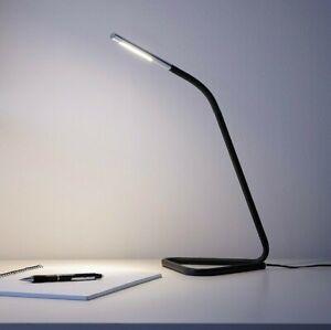IKEA HÅRTE LED Black Work Desk Lamp Bedroom Study Light FREE SHIPPING