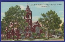 First Methodist Church and Acker Memorial Building Anniston Alabama