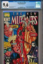 5 COMIC BOOK PRESSING SERVICE FOR $70 SEE DETAILS NEW MUTANTS #98 CGC 9.4 9.8