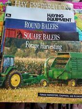 John Deere Forage Harvesting/Balers/Haying Equipment Agricultural Brochures (5 T