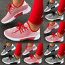 Women's Casual Breathable Running Trainers Comfy Lace Up Mesh Knit Sneaker Shoes