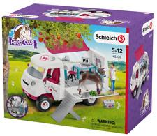 Schleich® Horse Club 42370 Mobile Tierärztin mit Hannoveraner Fohlen