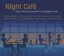 NIGHT CAFE = Benson/Cincotti/Bianco/Fältskog =2CD= Smooth Sexy Jazz Lounge Vibes