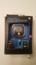 PowerBug Wall Charger + cable for iPod and iPhone
