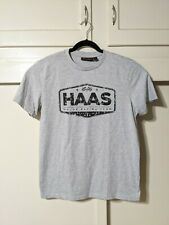 Haas Formula 1 Team Gray T Shirt Mens Large L F1 Racing