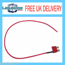 AUTOLEADS MFS10A AMP MINI SPUR BLADE FUSE LEAD CABLE FOR CAR VAN BUS VEHICLE