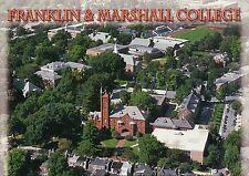 Franklin & Marshall College, Lancaster, Pennsylvania, Campus Aerial --- Postcard