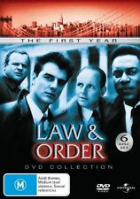 Law And Order : Season 1 (DVD, 2007, 6-Disc Set)