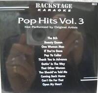 **KARAOKE CD+G DISC BACKSTAGE KARAOKE POP HITS VOL.3**
