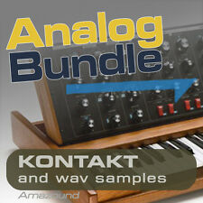NORD LEAD 2 + MINIMOOG BUNDLE for KONTAKT NKI INSTRUMENTS + WAV SAMPLES MAC PC