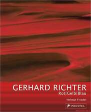Fachbuch Gerhard Richter, Rot Gelb Blau, Gemälde für BMW, STATT 19,95 Euro, NEU