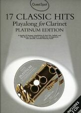 Guest Spot: 17 Classic Hits Playalong for Clarinet - Platinum Edition w. 2 CD's