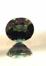 Natural earth-mined emerald green tourmaline...quality gem....1.82 Carat