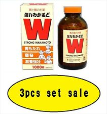Strong Wakamoto 1000 Tablets X 3sets from JAPAN  F/S with tracking number