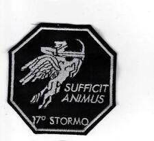 [Patch] 17° STORMO SUFFICIT ANIMUS cm 7x7 cm toppa ricamata ricamo REPLICA - 352